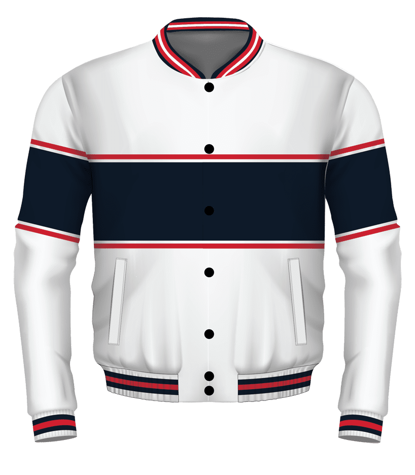 White-Navy-Red